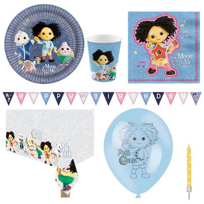 Moon and Me Party Pack - Deluxe Pack for 8