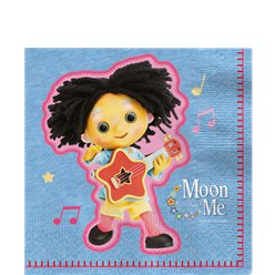 Moon & Me Lunch Napkins - 33cm