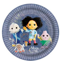 Moon and Me Paper Plates - 23cm