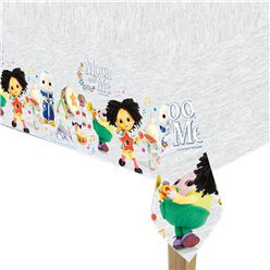 Moon and Me Plastic Tablecover - 1.8m x 1.2m