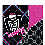 Monster High Napkins - 2ply Paper