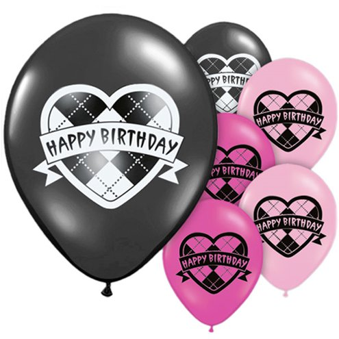 Monster High Happy Birthday Assorted Balloons 10 Latex Party