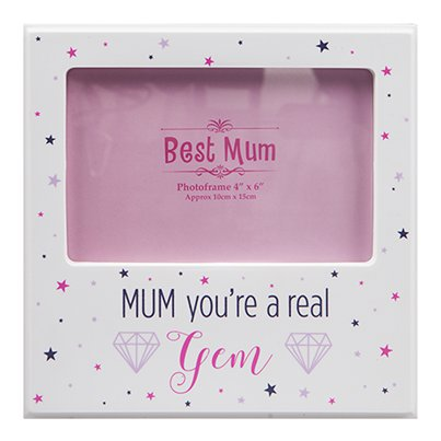 Mothers Day Best Mum Photo Frame