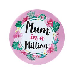 Mothers Day Jumbo Mum In A Million Badge - 15cm