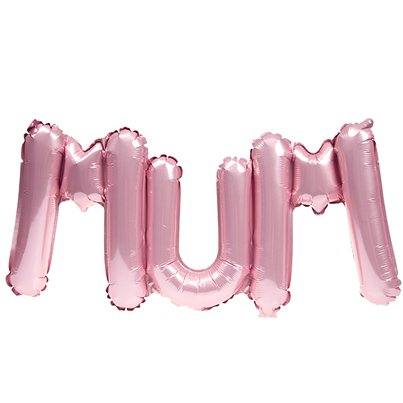 "Mothers Day Mum Pink Balloon - 26"" Foil"