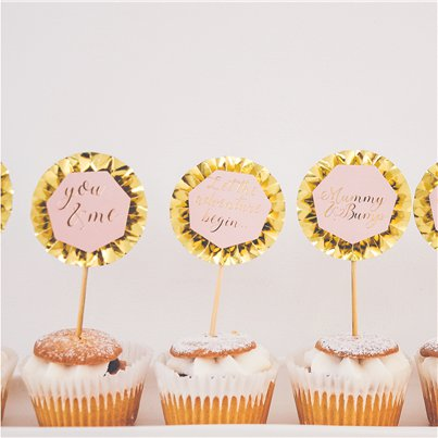 Mummy & Bump Cake Toppers - 12cm