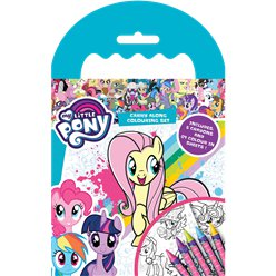 My Little Pony Carry Along Colouring Case