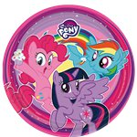 My Little Pony - 23cm Paper Party Plates