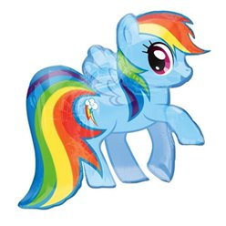 My Little Pony Rainbow Dash SuperShape Balloon - 28""