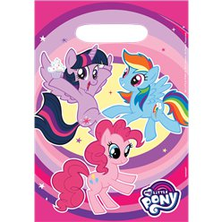My Little Pony Party Bags - Plastic Loot Bags