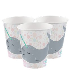 Narwhal Paper Cups - 250ml