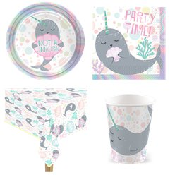 Narwhal Party Pack - Value Pack for 8
