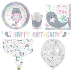 Narwhal Party Pack - Deluxe Pack for 8