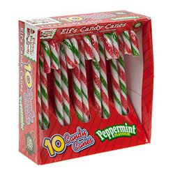 Naughty Elf Candy Canes