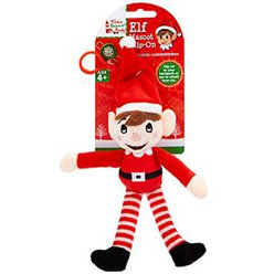 Naughty Elf Plush Elf Key Ring