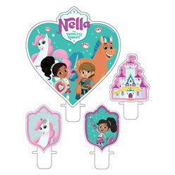 Nella The Princess Knight Candle Set