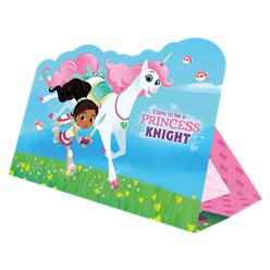 Nella The Princess Knight Party Invitation Cards
