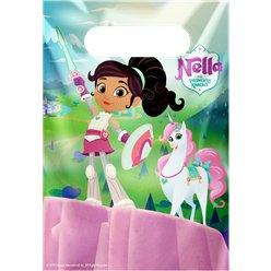 Nella The Princess Knight Plastic Party Bags