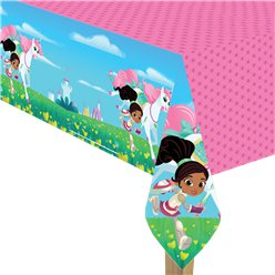 Nella The Princess Knight Plastic Tablecover - 1.2m x 1.8m
