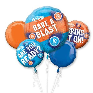 Nerf Party Balloon Bouquet