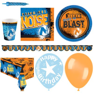 Nerf Party Pack - Deluxe Pack For 16
