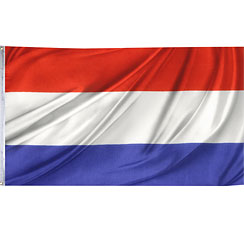 International Flag Netherlands Cloth Flag - 1.5m