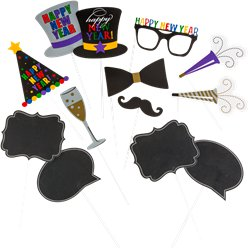 New Year Photo Prop Kit