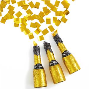 New Years Mini Bottle Party Popper