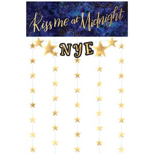 Midnight NYE Photo Booth Kit
