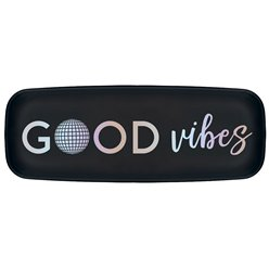 Good Vibes Long Plastic Platter - 44cm x 16cm