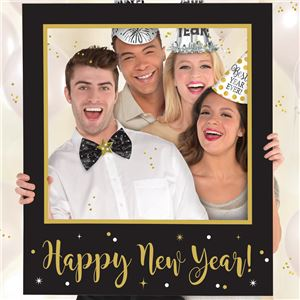 New Years Giant Frame Photo Prop