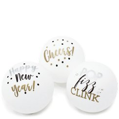 New Year Ping Pong Balls