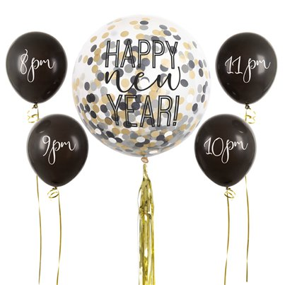 New Years Countdown Balloon Kit
