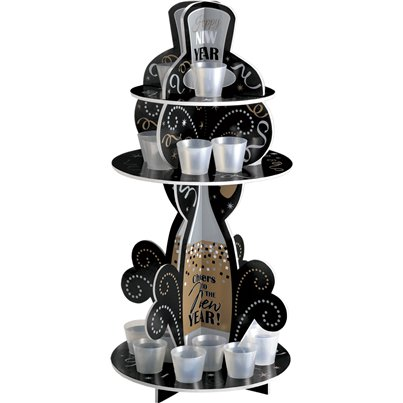 New Year Shot Glass Holder - 57cm