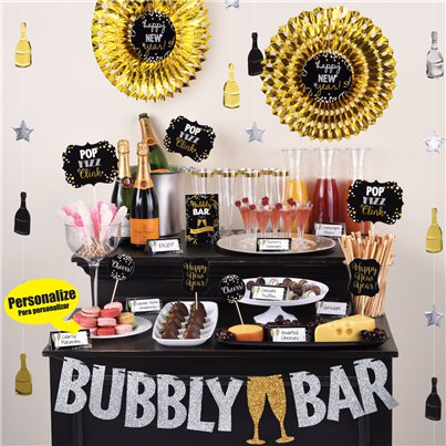 Champagne Bar Decorating Kit