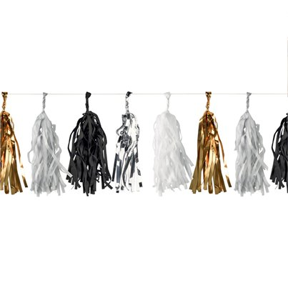Metallic Tassel Garland - 3m