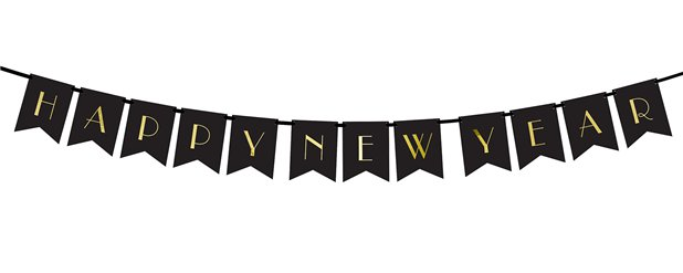Happy New Year Bunting - 1.7m