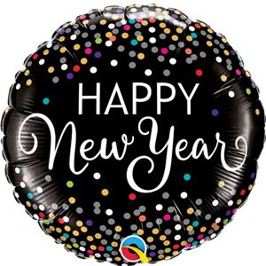 New Year Confetti Print Balloon -18