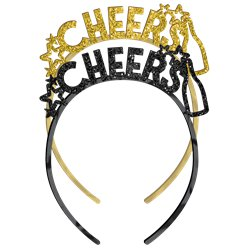 "NY ""Cheers"" Headbands - 6pk"