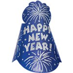 "Blue Foil ""Happy New Year"" Hat"