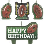 NFL Birthday Candles