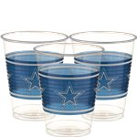 NFL Dallas Cowboys Cups - 473ml Plastic Party Cups