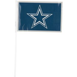 NFL Dallas Cowboys Plastic Handwaving Flags