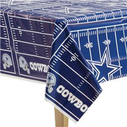 NFL Dallas Cowboys Tablecover - Plastic Tablecover