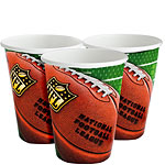NFL Drive Cups - 340ml Paper Party Cups