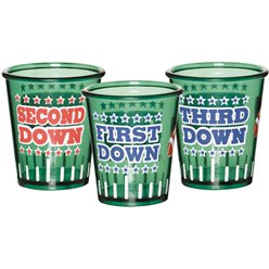 American Football Shot Glasses
