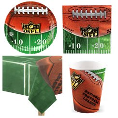 NFL Drive Party Pack - Value Pack for 8