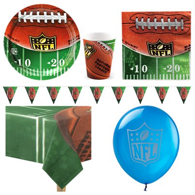 NFL Drive Party Pack - Deluxe Pack for 8