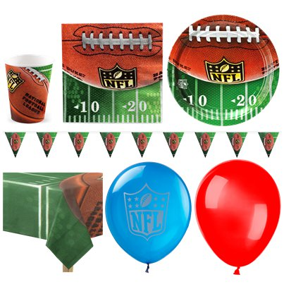 NFL Drive Party Pack - Deluxe Pack for 16