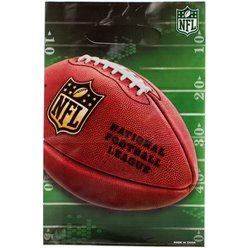 NFL Drive Party Bags - Plastic Loot Bags